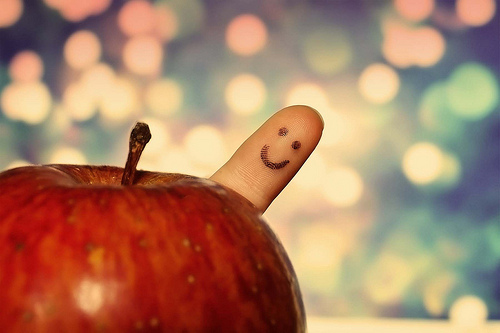 happiness apple