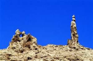 Escape from a rape culture: Lot's Wife rock formation near Sodom