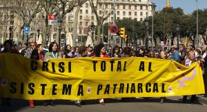International Women's Day Protest for Justice, Barcelona 2007