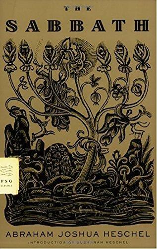 "Book cover for A.J. Heschel's ""The Sabbath."""
