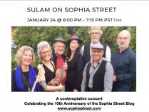 Video: Sulam on Sophia Street Concert