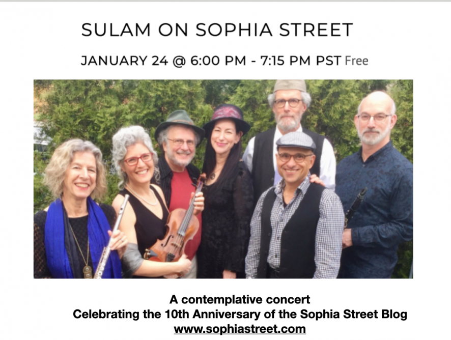 Video: Sulam on Sophia Street Concert